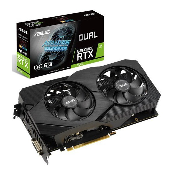 ASUS DUAL-RTX2060-O6G-EVO Graphics Card