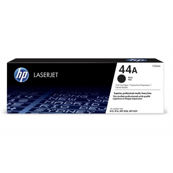 HP CF244A 44A Black LaserJet Toner Cartridge
