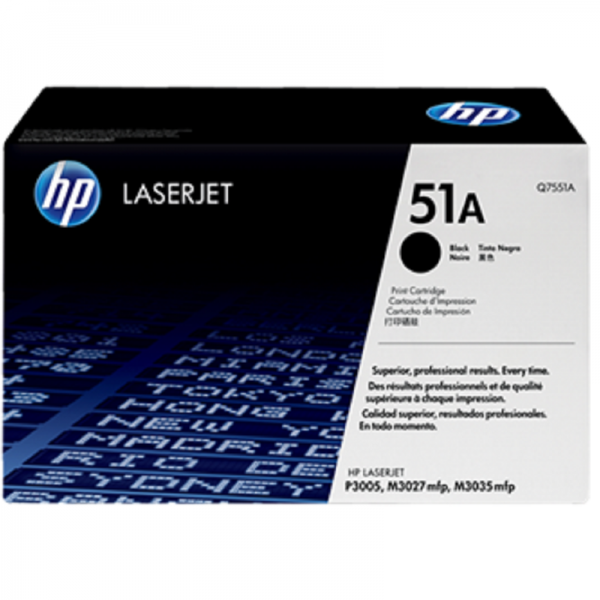 HP 51A Black LaserJet Toner Cartridge
