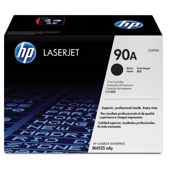 HP 90A Black LaserJet Toner Cartridge