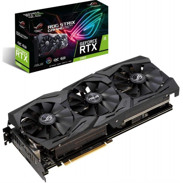 ASUS ROG-STRIX-RTX2060-O6G-GAMING Graphics Card
