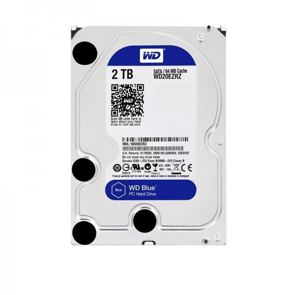 Western Digital Blue WD20EZRZ Internal Hard Drive-2TB