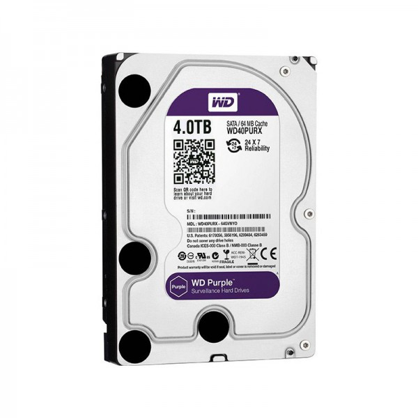 Western Digital Purple Surveillance Edition 4TB 64MB Cache